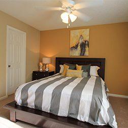 Bell Walker's Crossing apartments bedroom