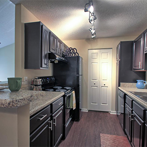 Bell Walker's Crossing apartments kitchen